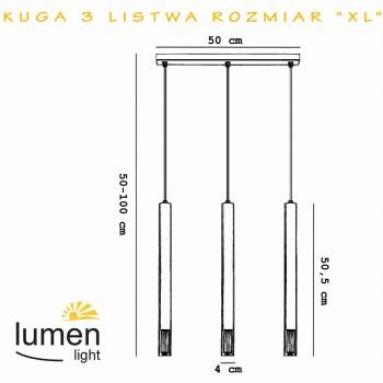LUMEN 3524 KUGA 3 LISTWA PATYNA LUMEN LIGHT - 2