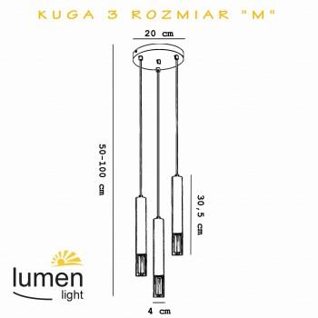LUMEN 3400 KUGA 3 M BLACK LUMEN LIGHT - 2