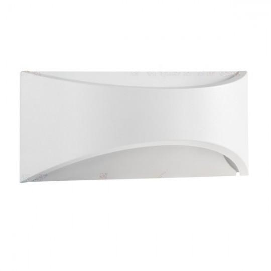 Kinkiet zewnętrzny biały BISO LED 8W