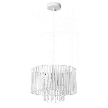 LAMPEX 801/1 DIANA lampa wisząca biała - 2