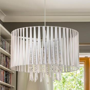 LAMPEX 801/1 DIANA lampa wisząca biała - 3