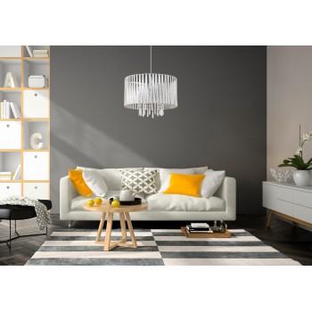 LAMPEX 801/1 DIANA lampa wisząca biała - 4