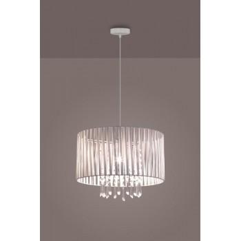 LAMPEX 801/1 DIANA lampa wisząca biała - 5