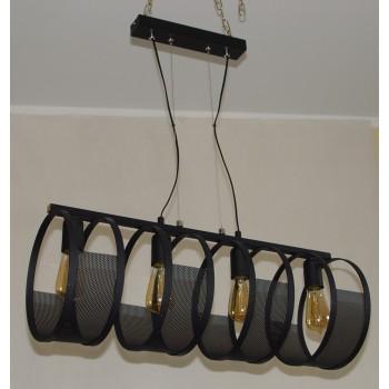 OPRAWA METALOWA LAMPA SUFITOWA  - 1