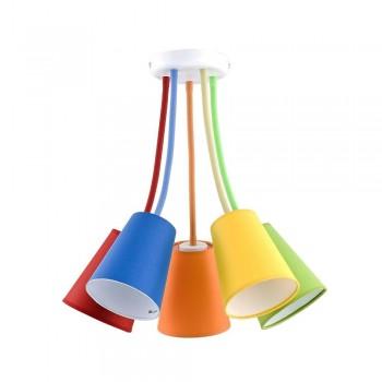 Lampa z ruchomymi kolorowymi abażurami TK Lighting TK LIGHTING - 1