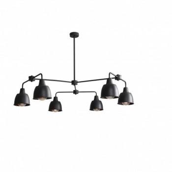 ALDEX Nowoczesna Czarna Metalowa Lampa Frik ALDEX - 1