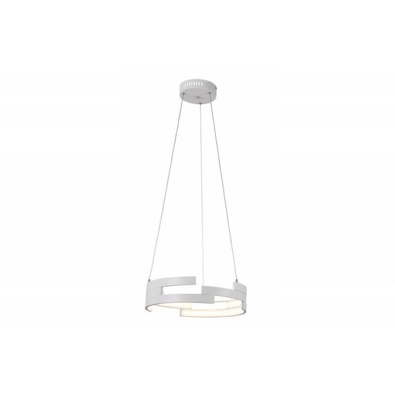 Nowoczesna biała lampa ledowa 30W REALITY - 1