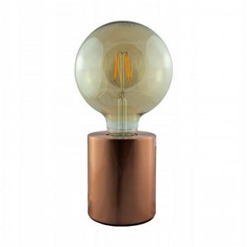 Lampka biurkowa miedziana - 1