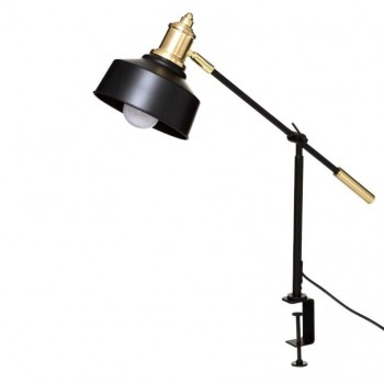 Lampka przykręcana czarno-złota Atmosphera Créateur - 1