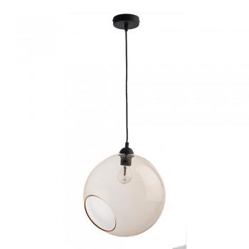 Szklana lampa wisząca Pobo...
