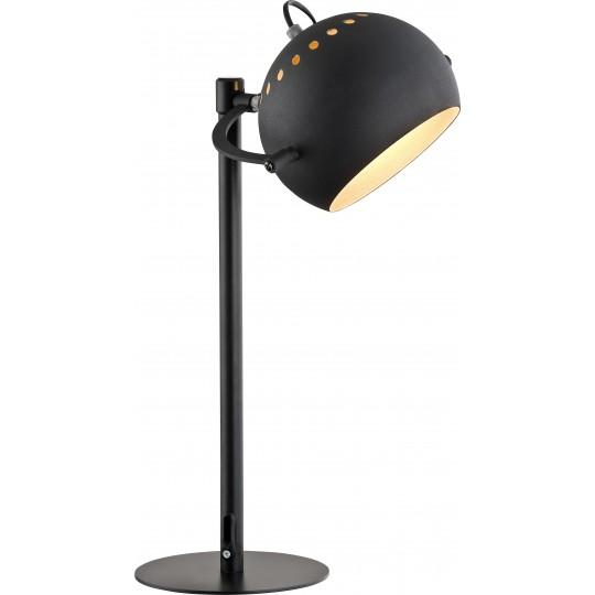 Czarno-złota lampka Yoda TK Lighting
