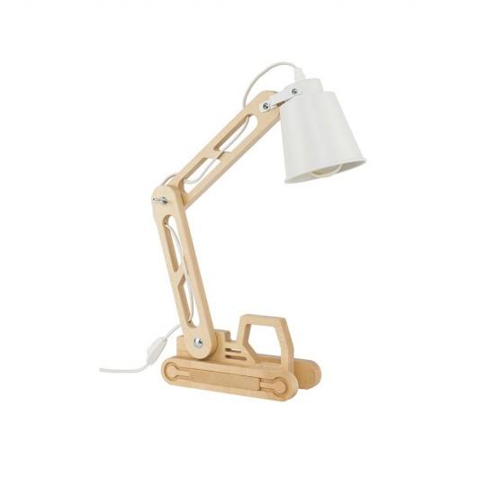 Drewniana lampka nocna Lift TK Lighting